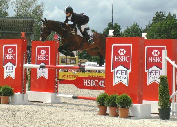 CCI4* Luhmühlen 2012 - Catherine Burrell (AUS) auf ihrem Pferd Urzan