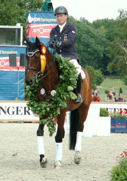 CCI4* Luhmühlen 2012 - Sieger - Michael Jung (GER) auf seinem Pferd Leopin FST