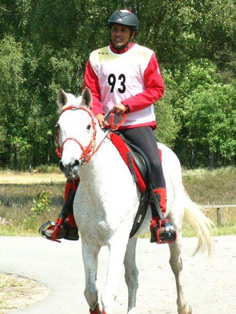 Globetrotter Luhmühlen Challenge 2012 - Yusuf Ali Al Taher auf seinem Anglo-Araber Elnino