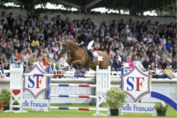 Hym D'Isigny war erfolgreich im internationalen Sport mit Eric Navet unterwegs (Foto: GR Studforlife.com)